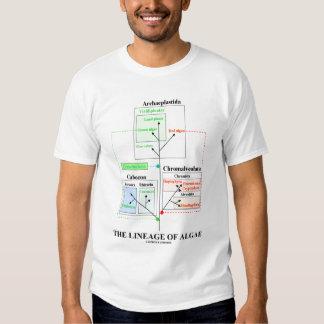 The Lineage Of Algae (Taxonomy) Shirt