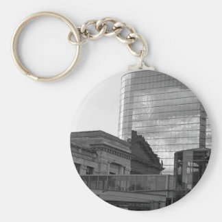 The Link Basic Round Button Keychain