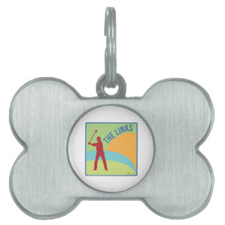 The Links Pet ID Tag