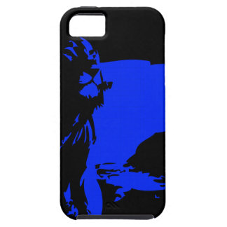 The Lion 1 Blue iPhone SE/5/5s Case