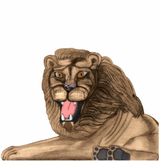 The Lion Acrylic Pin Statuette