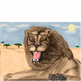 The Lion Acrylic Sculpture