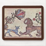 The Lion And The Jackal Dimna By Syrischer Maler U Mouse Pad