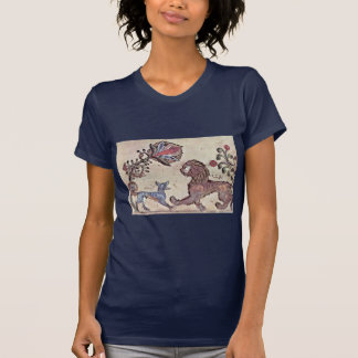 The Lion And The Jackal Dimna By Syrischer Maler U Tshirts