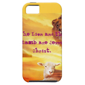 The Lion and the LAmb iPhone SE/5/5s Case
