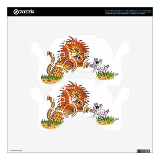 The Lion and the Puppy PS3 Controller Skins