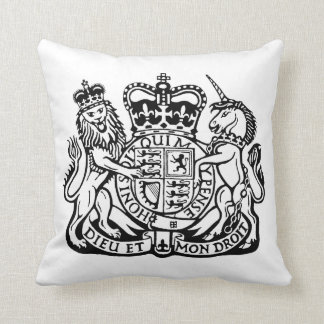 The Lion and the Unicorn Throw Pillow