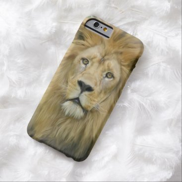 ironydesignphotos The Lion Barely There iPhone 6 Case