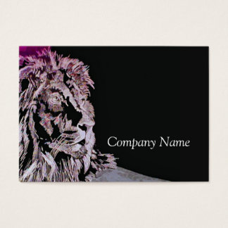 The Lion Business Card