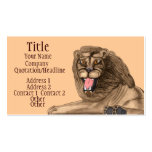 The Lion Double-Sided Standard Business Cards (Pack Of 100)