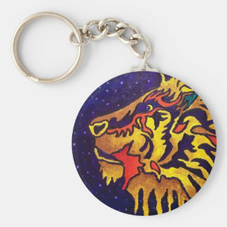 The Lion by Piliero Keychain