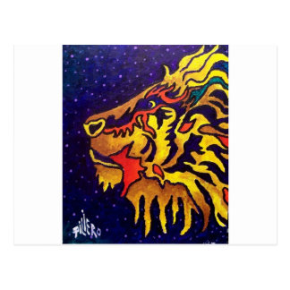 The Lion by Piliero Postcard