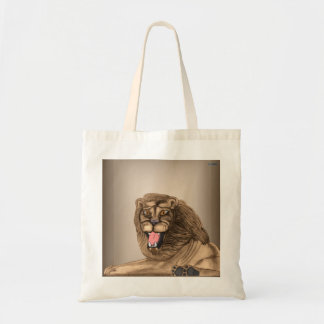 The Lion (cut-out) Tote Bag