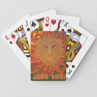 The Lion Deck of Cards