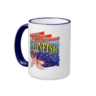 The Lion Fish Ringer Mug