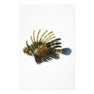 THE LION FISH STATIONERY