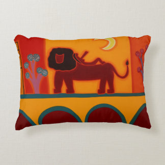 The Lion From Fulham Broadway 2008 Accent Pillow