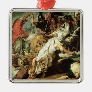 The Lion Hunt, 1621 Christmas Tree Ornaments