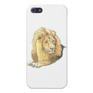 The Lion iPhone 5 Cases
