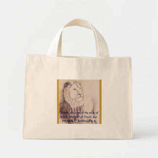 The Lion Judah has Prevailed Tote Mini Tote Bag