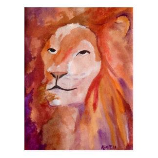 The Lion (Kimberly Turnbull Art) Postcard