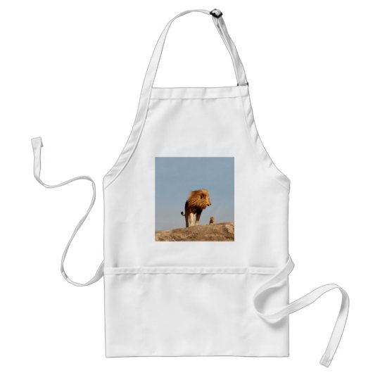 The Lion King ( Adult Lion and Cub) Adult Apron