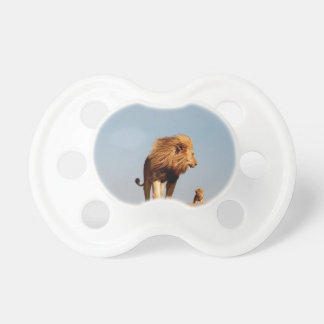 The Lion King ( Adult Lion and Cub) Pacifier