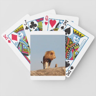 The Lion King ( Adult Lion and Cub) Bicycle Poker Cards