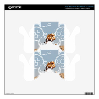 The Lion King ( Adult Lion and Cub) Skins For PS3 Controllers
