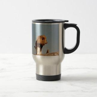 The Lion King ( Adult Lion and Cub) Travel Mug