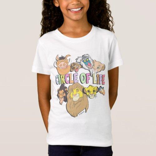The Lion King  Circle of Life T_Shirt