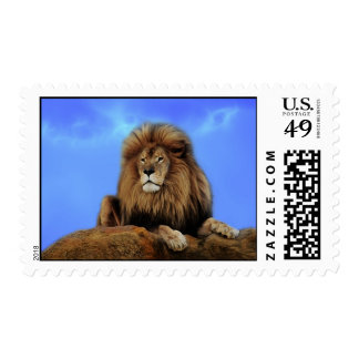 The lion king postage stamp