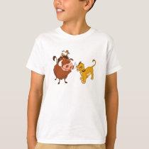The Lion King Simba and Timon Disney T-Shirt