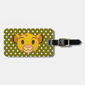 The Lion King | Simba Emoji Bag Tag