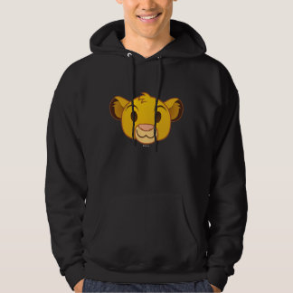 The Lion King | Simba Emoji Hoodie
