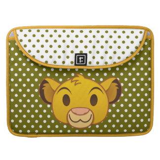 The Lion King | Simba Emoji Sleeve For MacBook Pro