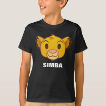 The Lion King | Simba Emoji T-Shirt