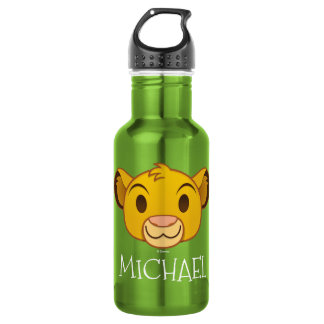 The Lion King | Simba Emoji Water Bottle