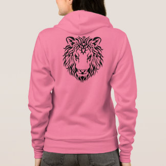 The Lion King Single Stencil Tattoo Style design 2 Hoodie