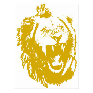 The Lion King Speaks Postcard
