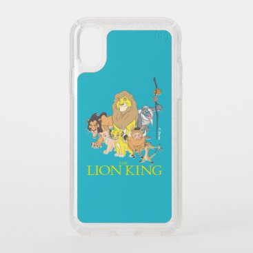 The Lion King   Title & Characters Speck iPhone X Case