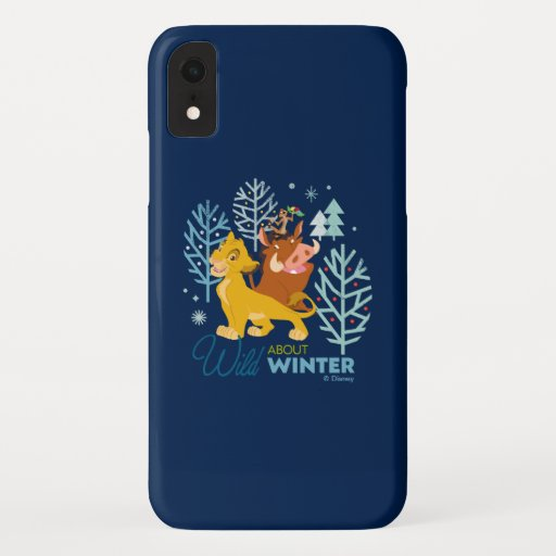 The Lion King | Wild About Winter iPhone XR Case
