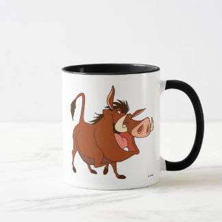 The Lion King's Pumba smiles Disney Mug