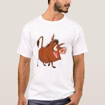 The Lion King's Pumba smiles Disney T-Shirt