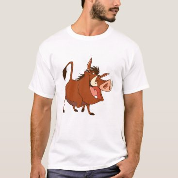 Disney Themed The Lion King's Pumba smiles Disney T-Shirt