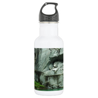 The Lion Monument in Lucerne 18oz Water Bottle