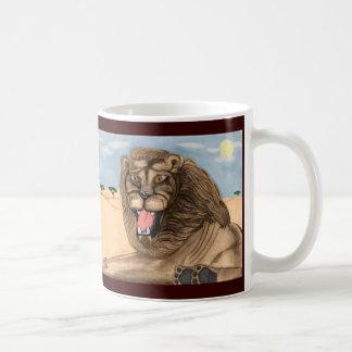 The Lion Classic White Coffee Mug