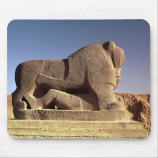 The Lion of Babylon Mouse Pad