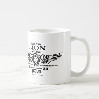 The Lion of Judah Classic White Coffee Mug
