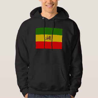 The Lion of Judah Hoodie Imperial Ethiopian flag